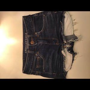 American eagle Hi-Rise denim shorts